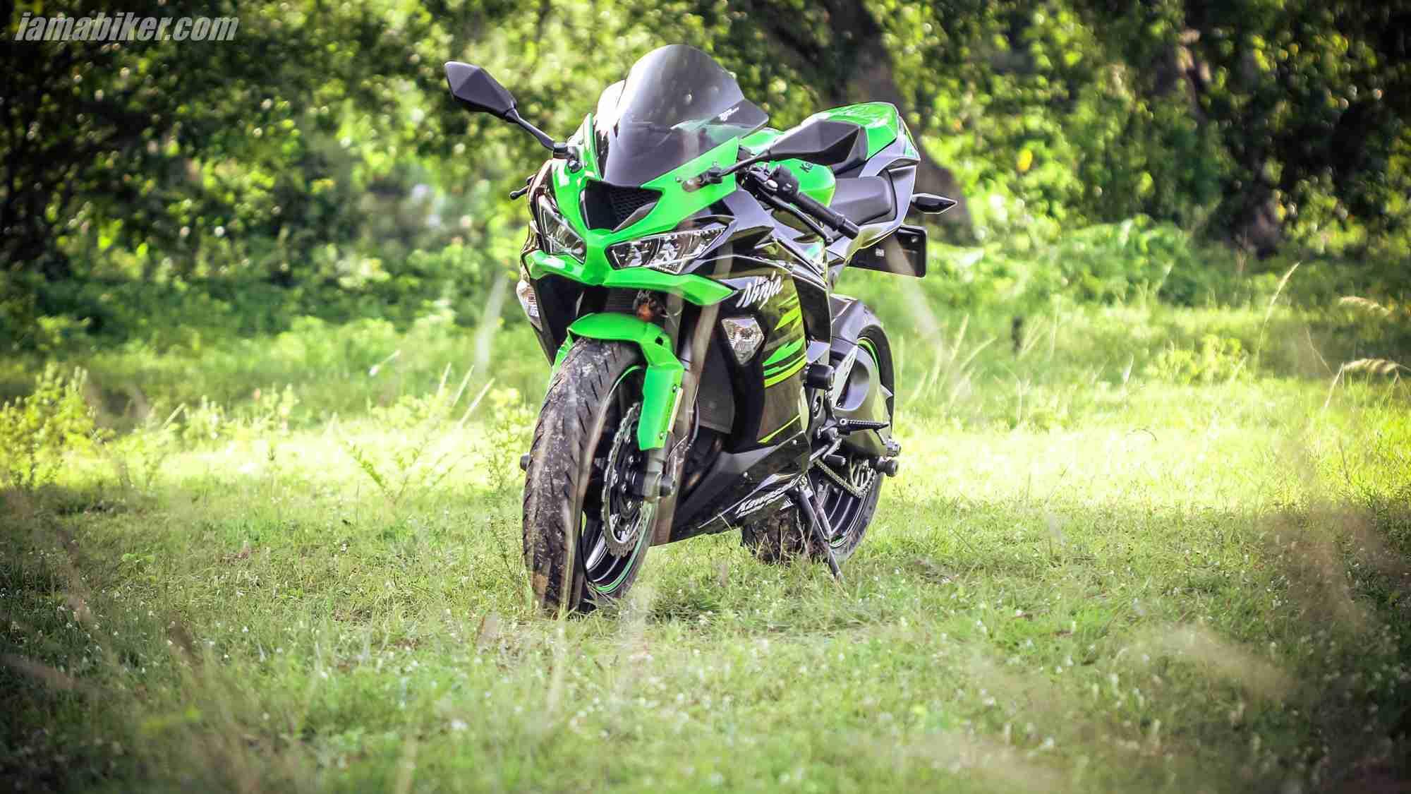Kawasaki Ninja ZX-6R HD wallpapers