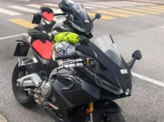 Aprilia RS 660 Spy Images
