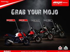BS6 Mahindra Mojo Colours