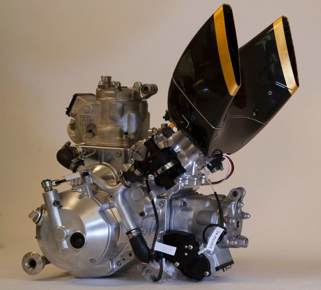 Langen 250 Two-Stroke Engine