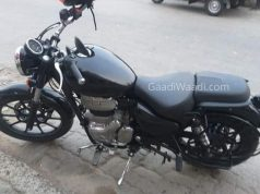 Royal Enfield Meteor 350 Spy Image