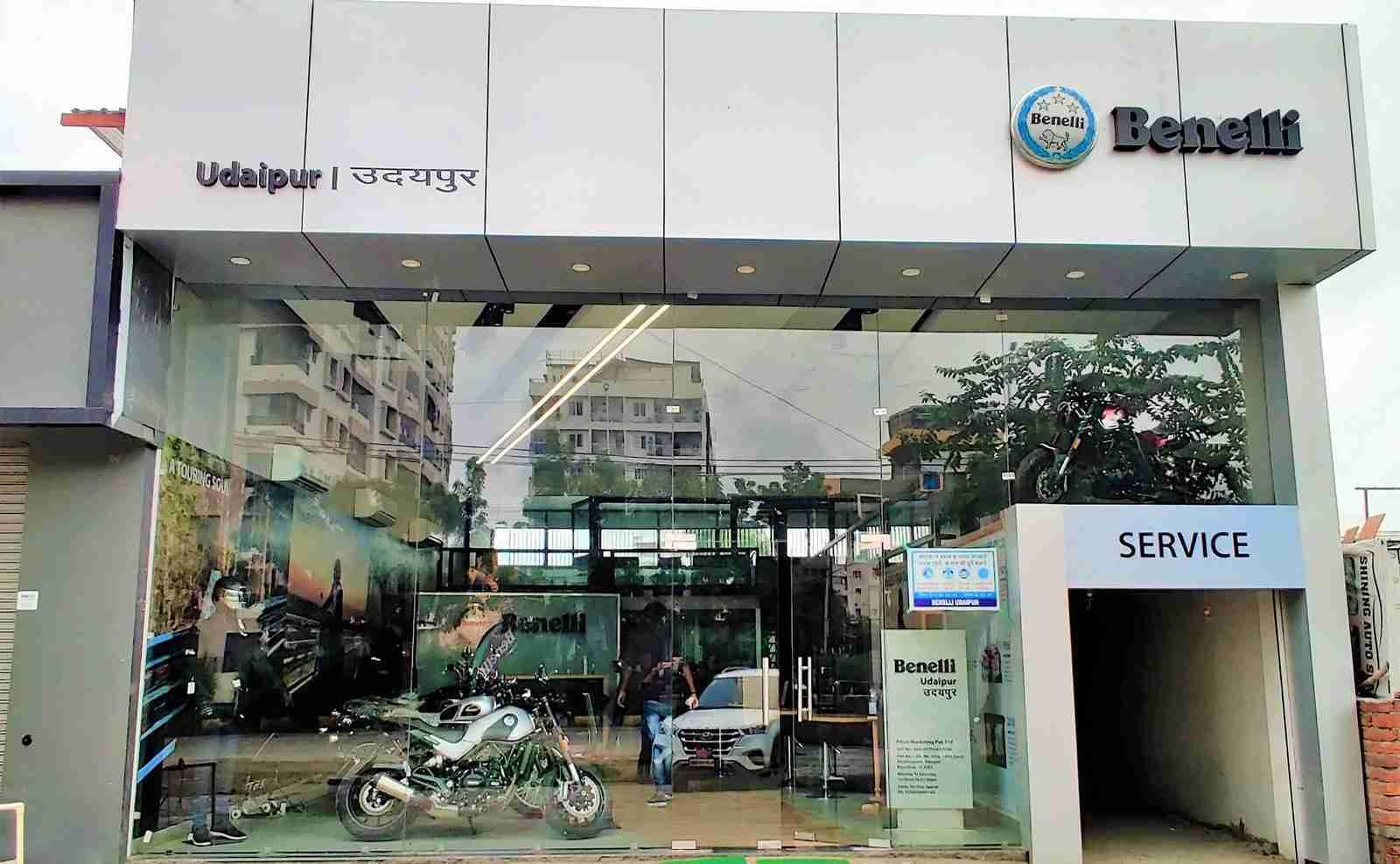 Benelli Udaipur Showroom