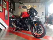 Mojo 300 ABS BS6 Ruby Red colour option