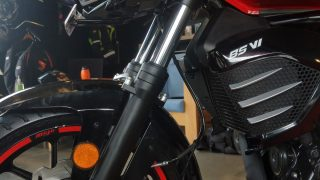 Mojo 300 ABS BS6 front telescopic forks