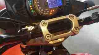 Mojo 300 ABS BS6 digital meter