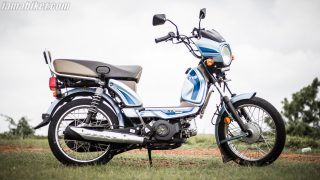 TVS XL100 Comfort review and features