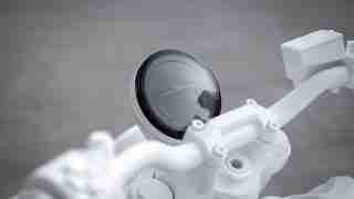 Triumph TRIDENT 'Design Prototype' digital meter