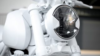 Triumph TRIDENT 'Design Prototype' headlight