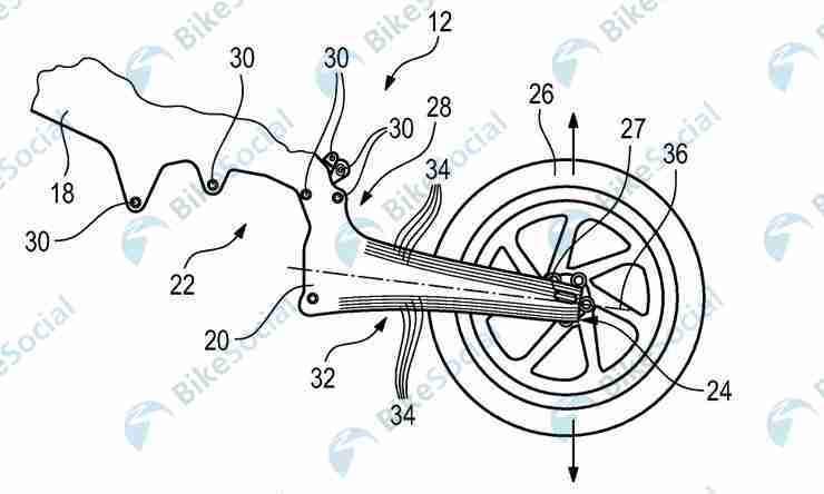 BMW Motorrad Carbon Fibre Frame