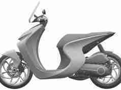 Honda Retro Scooter Patent Images