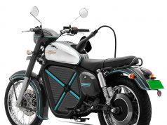 Jawa Electric Motorycle Rendering
