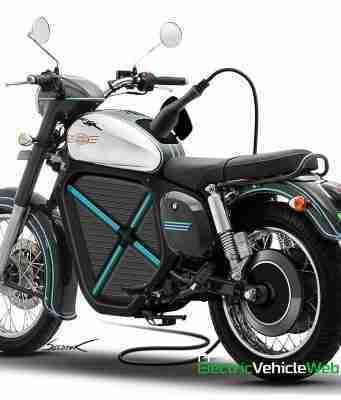 Jawa Electric Motorycle Rendering