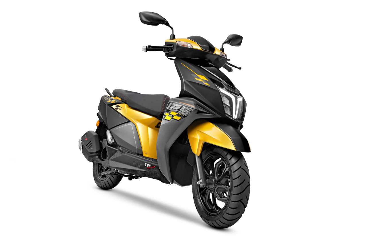 TVS Ntorq 125 Race Edition Yellow & Black