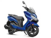 BS6 Suzuki Burgman Street Pearl Medium Blue colour option
