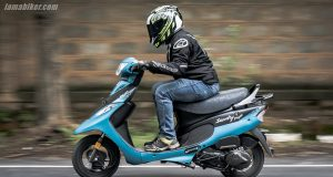BS6 TVS Scooty Pep Plus review