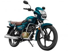 TVS Radeon Regal Blue colour option