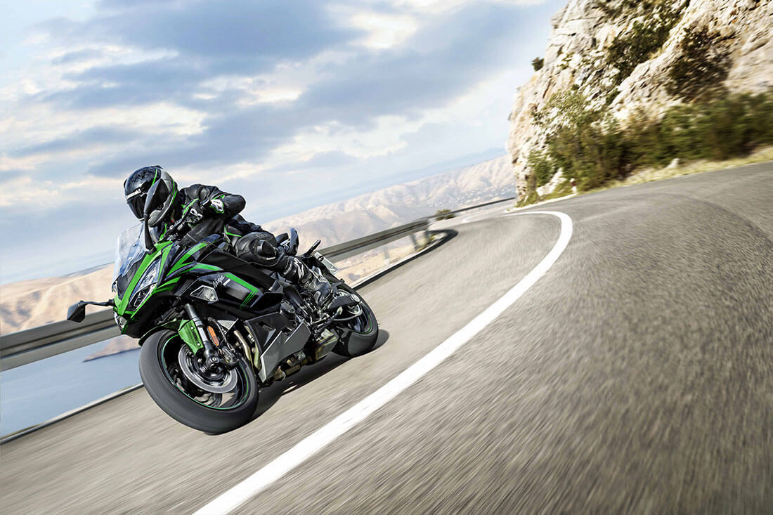 2021 Kawasaki Ninja 1000 SX New Emerald Blazing Green Colour