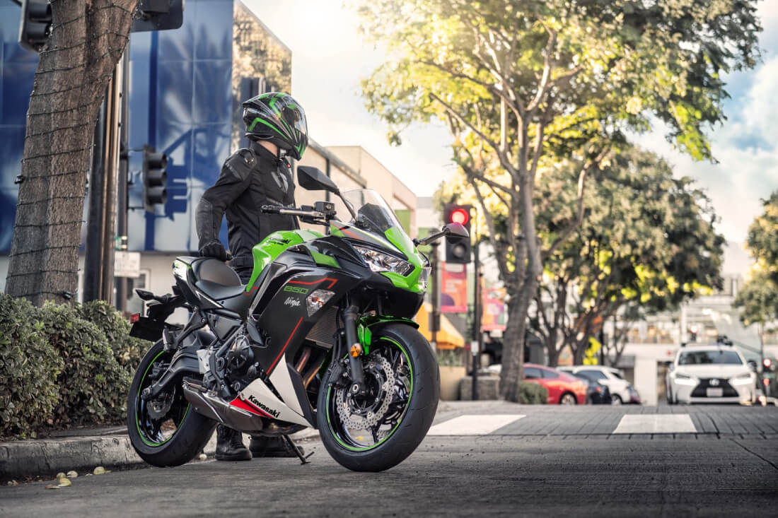 2021 Kawasaki Ninja 650 New Lime Green Colour