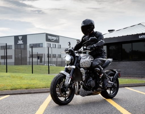 Triumph Trident Roadster Spy Images
