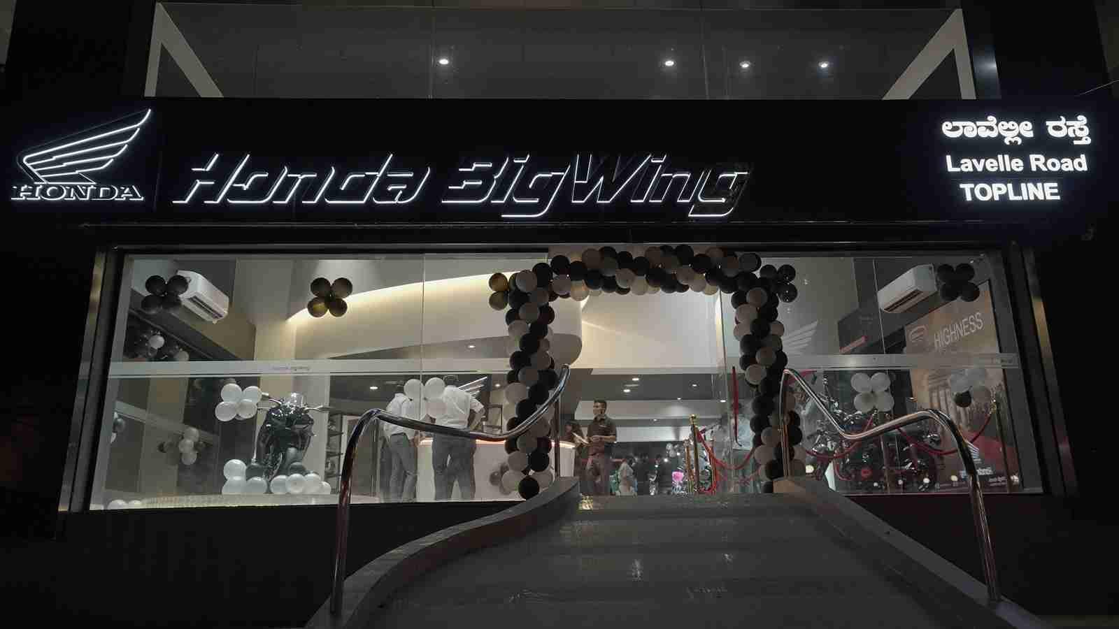 Honda BigWing at Bengaluru