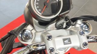 Honda H'ness CB 350 digital meter