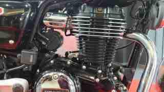 Honda H'ness CB 350 engine