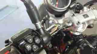 Honda H'ness CB 350 switches