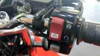 Honda H'ness CB 350 integrated engine start kill switch