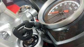 Honda H'ness CB 350 key