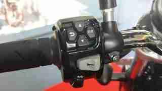 Honda H'ness CB 350 mode meter control switch