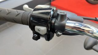 Honda H'ness CB 350 switch gear standard version