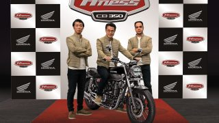 Honda unveils H'ness CB350
