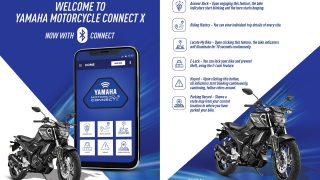 New Yamaha Motorcycle Connect X app connects to your bike via bluetooth