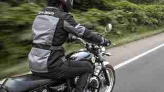 Royal Enfield Stormraider riding jacket back side