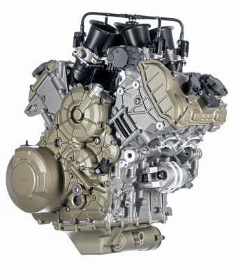 The new Ducati V4 Granturismo Multistrada engine