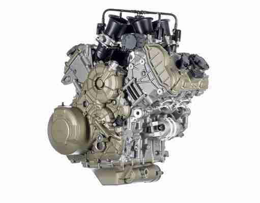 The new Ducati V4 Granturismo Multistrada engine