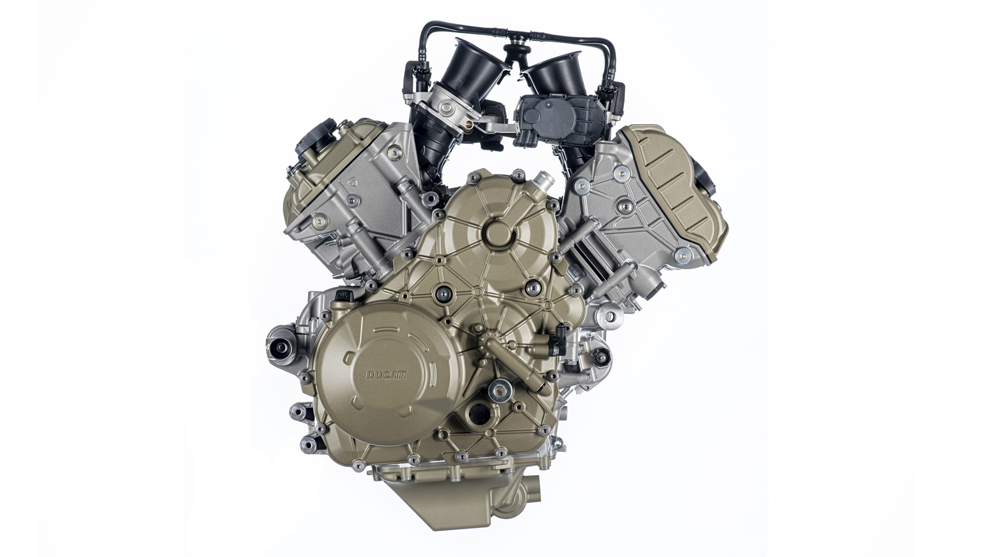 The new Ducati V4 Granturismo engine will make 170 HP and 125 Nm