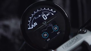 Triumph Trident 660 - Instruments Accessory (tyre pressure monitoring system)