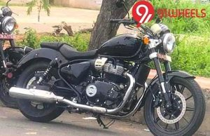 Royal Enfield 650 Cruiser Spy Images