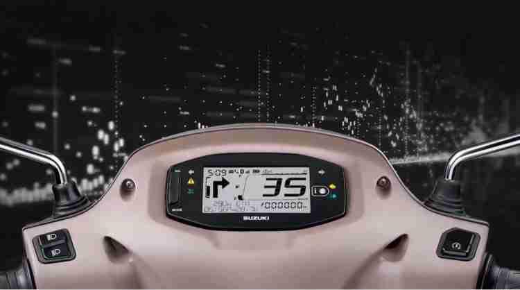 Suzuki Access 125 Bluetooth Display