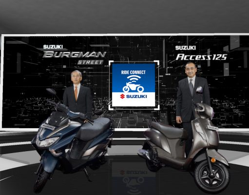 Suzuki Access 125 & Burgman Street launched with Bluetooth