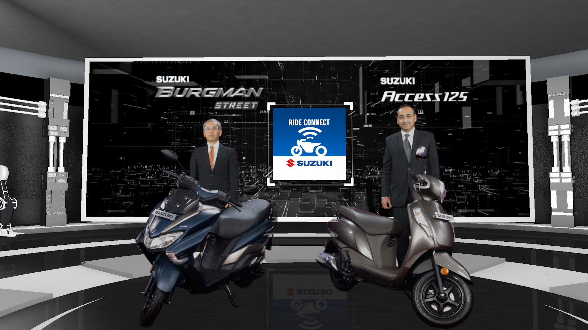 Suzuki Access 125 & Burgman Street launched with Bluetooth