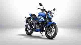 Suzuki Gixxer 250 Metallic Triton Blue