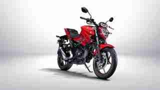 Suzuki Gixxer Pearl Mira Red