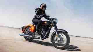 BS6 Classic 350 Orange Ember