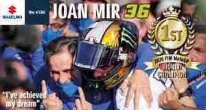 Joan Mir Suzuki 2020 MotoGP Champion
