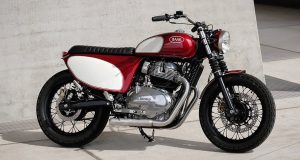 BAAK Motocyclette that is built on the base of the Interceptor 650