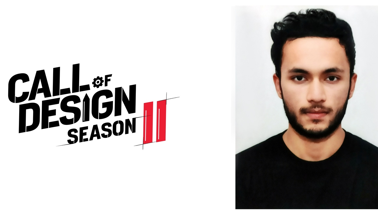 Call of Design Winner - Aayush Bijalwan