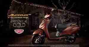 Honda celebrates 20 years of the Activa
