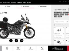 Triumph Motorcycles India Configurator